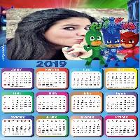 moldura-calendario-2019-pj-mask