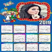 calendario-2019-azul-com-palhacos-patati-e-patata