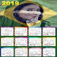 moldura-calendario-2019-bandeira-do-brasil