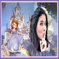 molduras-para-fotos-gratis-castelo-princesa-sofia