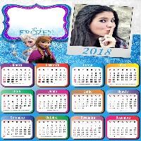foto-moldura-infantil-calendario-frozen-2018