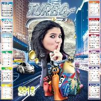 moldura-de-foto-calendario-infantil-turbo-2015