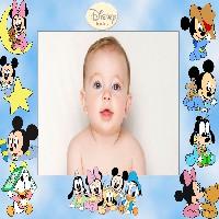 moldura-com-a-turma-disney-baby