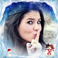 montagem-de-foto-de-natal-com-neve-e-bonecos-de-neve