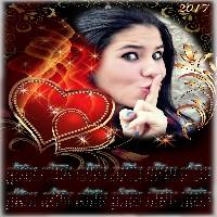 moldura-amor-gratis-para-calendario-2017