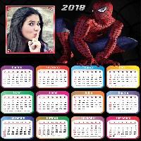 calendario-para-imprimir-2018-do-homem-aranha