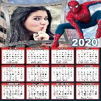 moldura-para-fotos-calendario-2020-do-homem-aranha