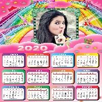 calendario-2020-infantil-adicione-uma-foto-para-fazer-o-seu