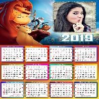 moldura-calendario-2019-o-rei-leao