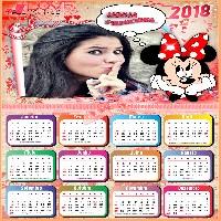 calendario-2018-da-minnie