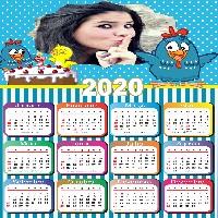 calendario-2020-personalizado-galinha-pintadinha