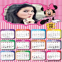 moldura-para-fotos-calendario-2019-minnie-mouse-rosa