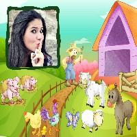 montagem-de-foto-com-animais-da-fazenda-e-fazendeiro