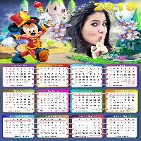 moldura-infantil-mickey-calendario-2019