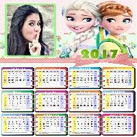 montagem-de-fotos-em-calendario-2017-gratis-com-elsa-e-anna