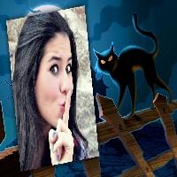 montagem-de-fotos-para-halloween-e-gato-preto