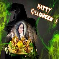 bruxa-de-halloween-fotomontagem