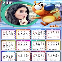 foto-moldura-digital-com-calendario-2019-lele-e-linguica