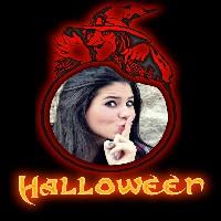 moldura-para-halloween-com-bruxa-sombria