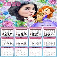 calendario-com-foto-2020-princesa-sofia-disney
