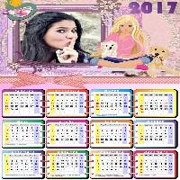 moldura-de-calendario-da-barbie-2017