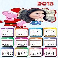 moldura-de-fotos-online-para-calendario-2018-gratis
