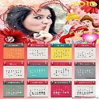 moldura-princesas-disney-calendario-2016