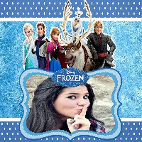 moldura-online-do-filme-frozen