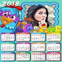 moldura-infantil-calendario-2018-galinha-pintadinha