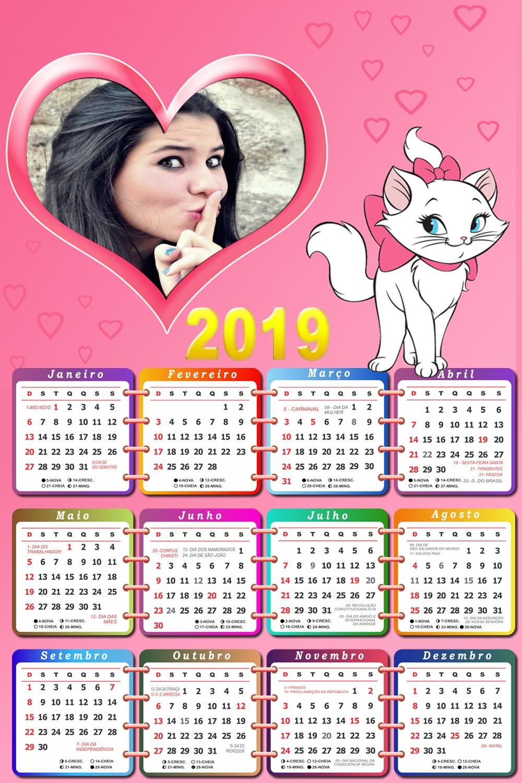 foto-moldura-calendario-2019-gatinha-marie-disney