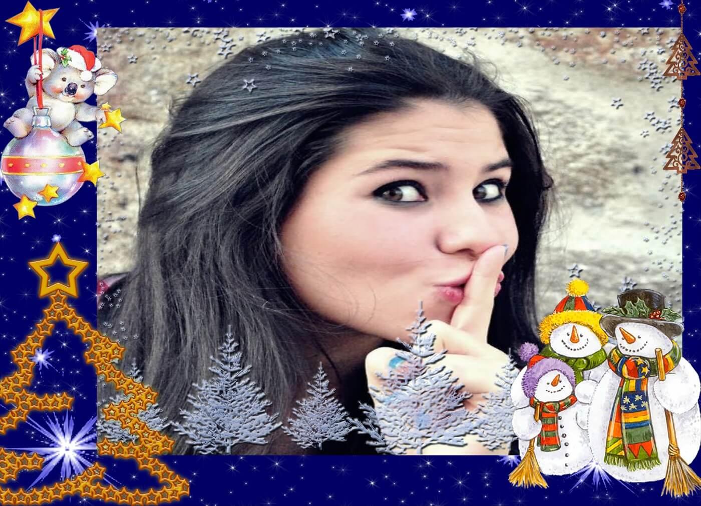 montagens-de-fotos-gratis-para-natal-com-bonecos-de-neve