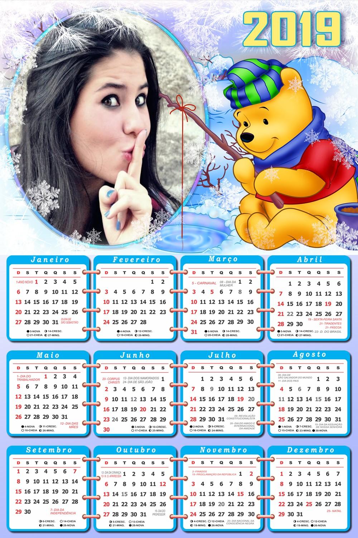 calendario-2019-ursinho-winnie-the-pooh