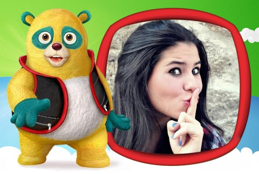moldura-urso-agente-especial-para-fotomontagem