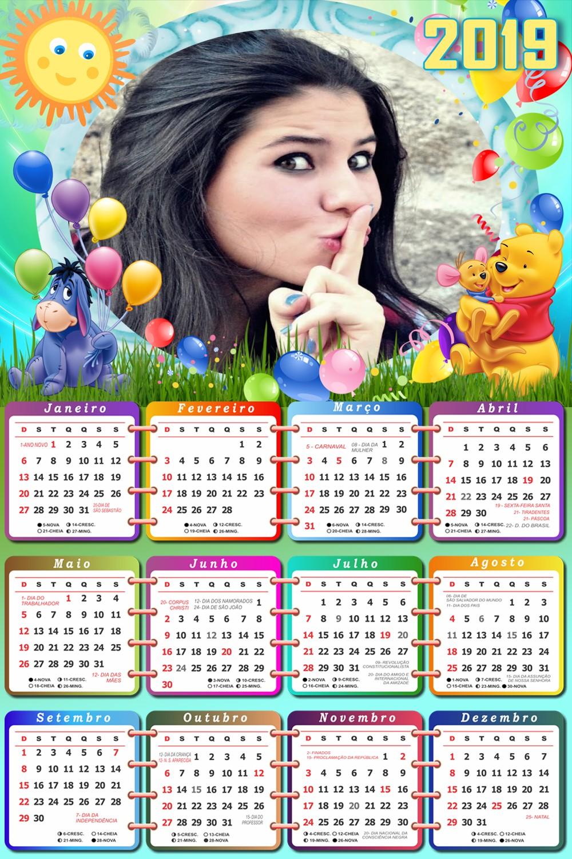 calendario-2019-winnie-the-pooh-e-amigos