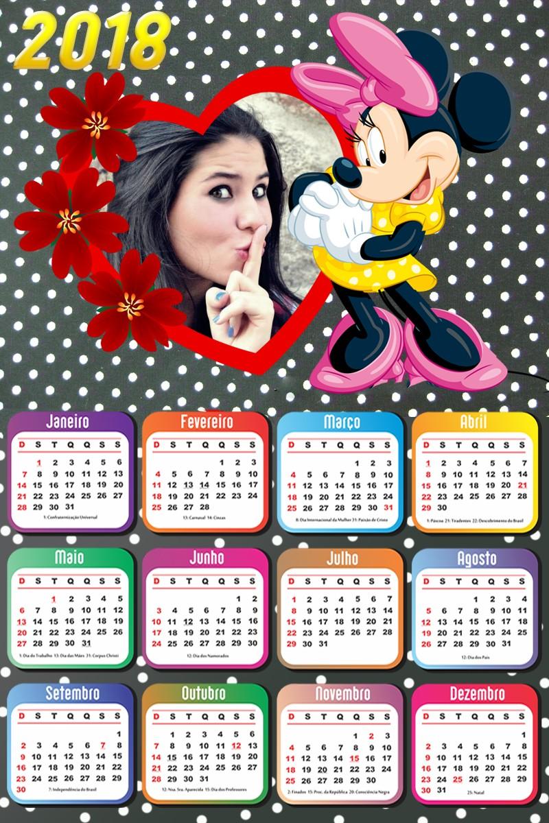 fotomontagem-gratis-com-minnie-calendario-2018