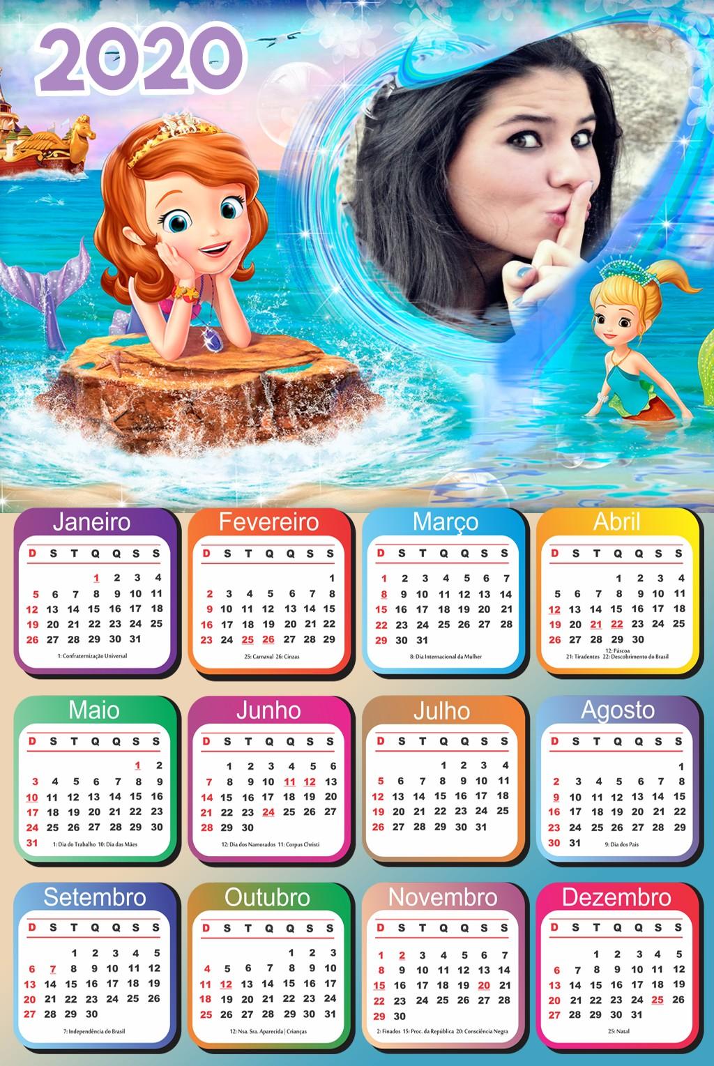 calendario-princesa-sofia-sereia-2020