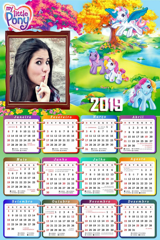 moldura-infantil-my-little-pony-calendario-2019