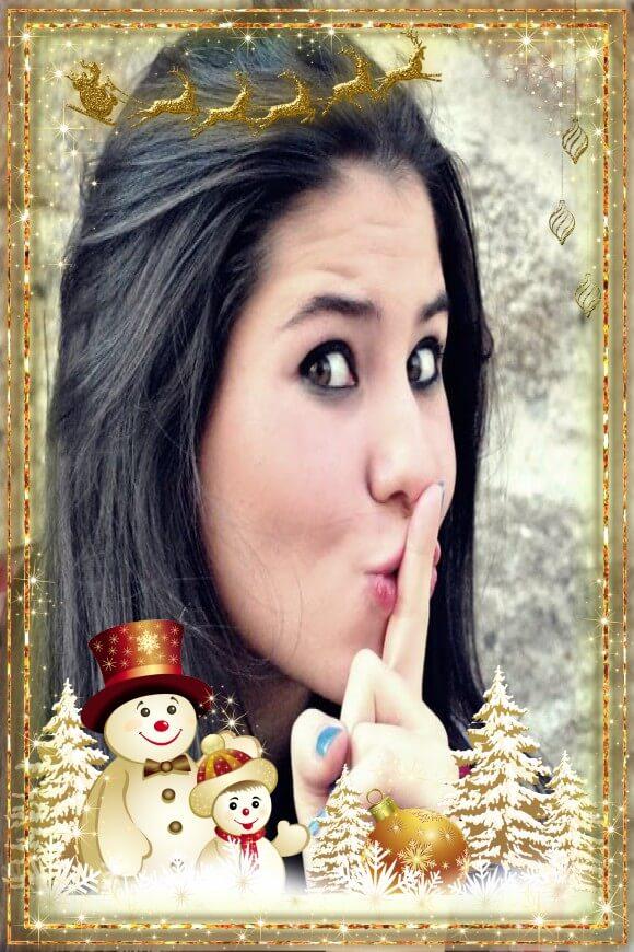 foto-moldura-natal-ambar-com-bonecos-de-neves