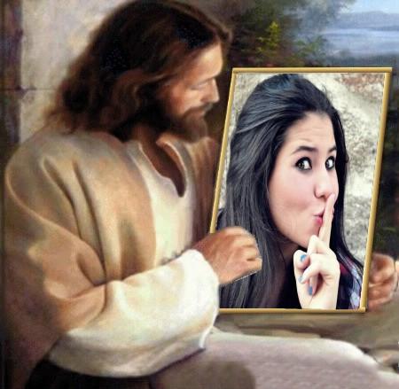 fotomontagem-online-jesus