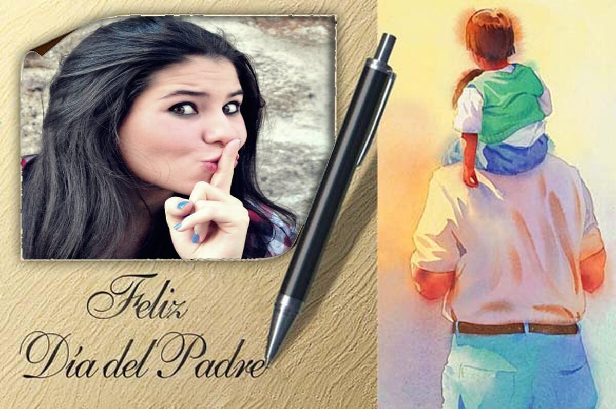 moldura-para-fotos-em-espanhol-feliz-dia-dos-pais