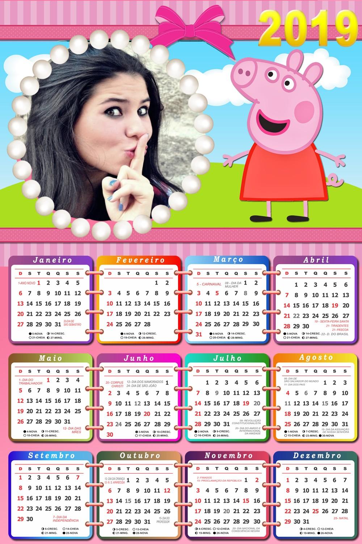 fotomontagem-calendario-online-2019-peppa-pig