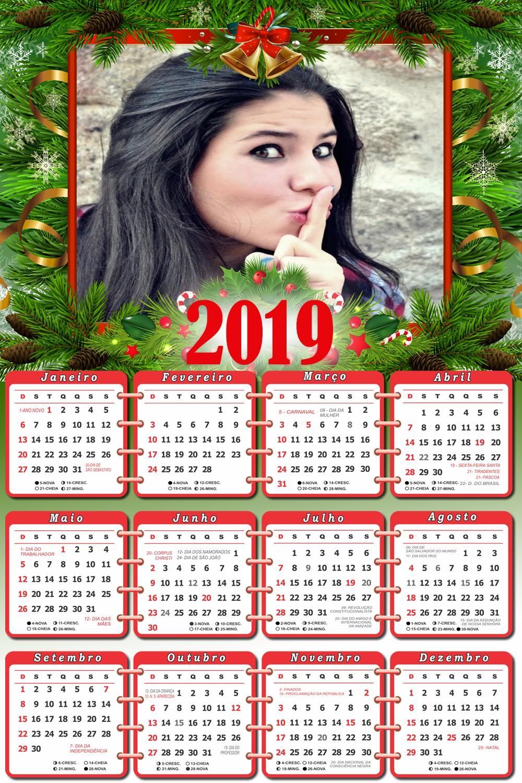 montar-foto-online-calendario-2019-natal