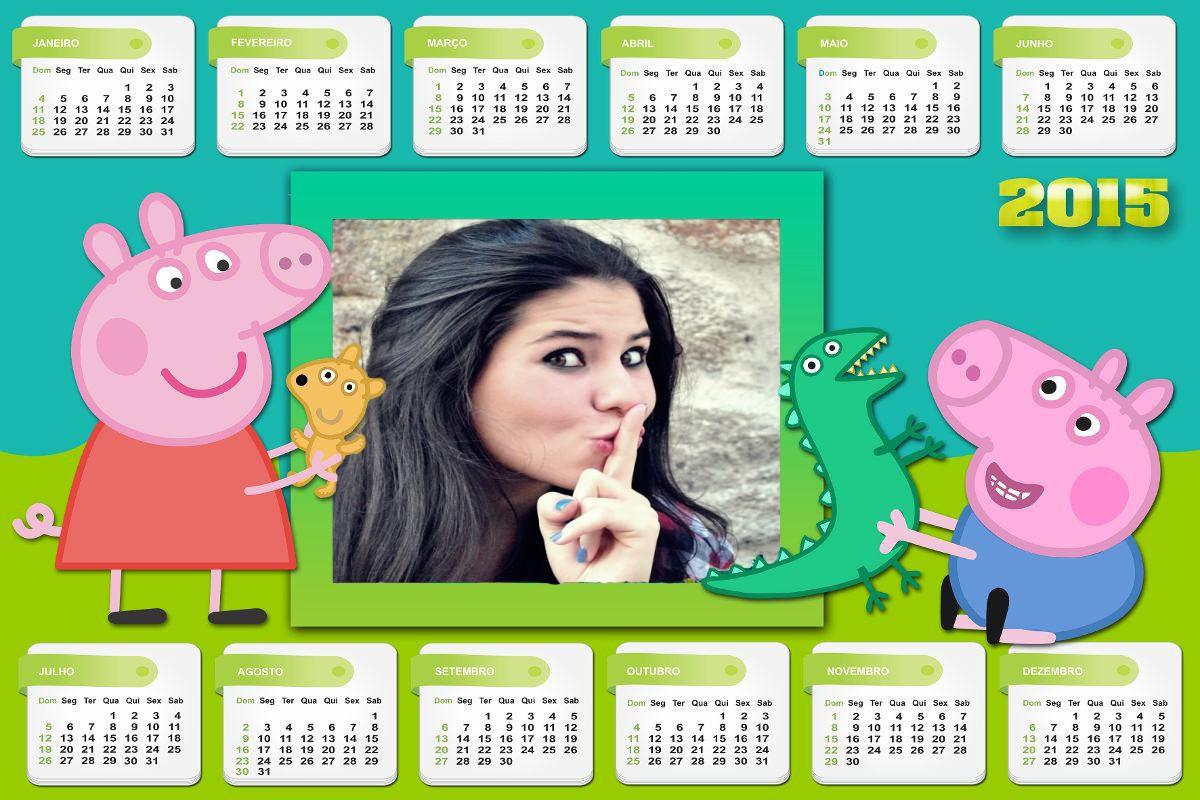 colagem-de-fotos-online-calendario-2015-da-peppa-e-george-pig