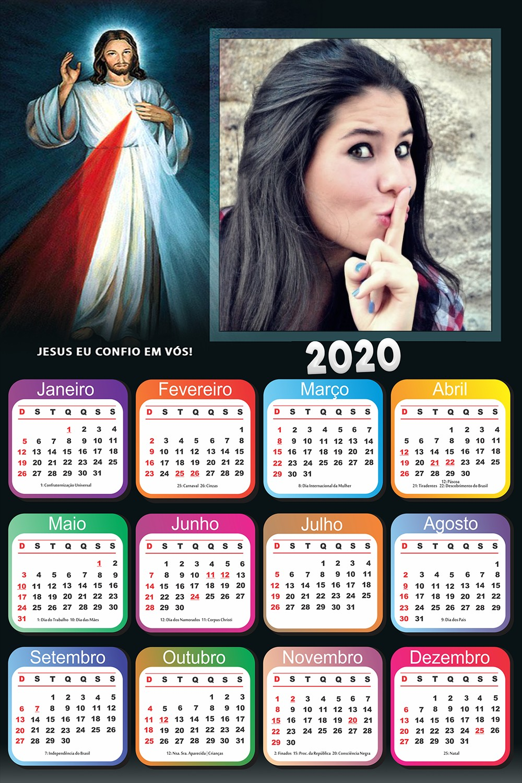 calendario-2020-jesus-eu-confio-em-vos