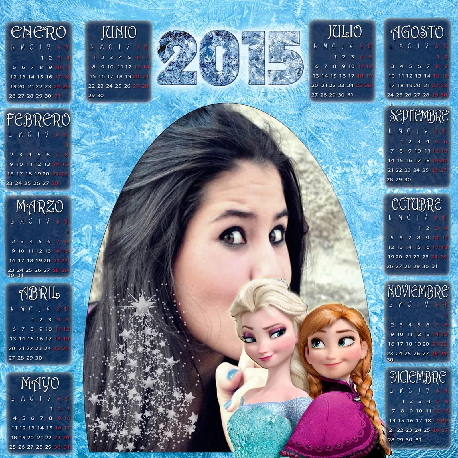 moldura-calendario-frozen-2015