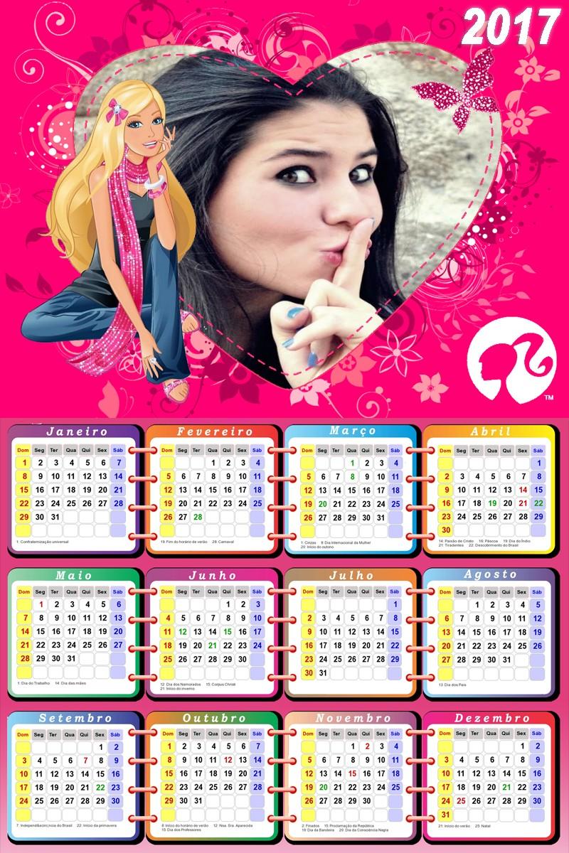 montagem-de-foto-barbie-com-calendario-2017