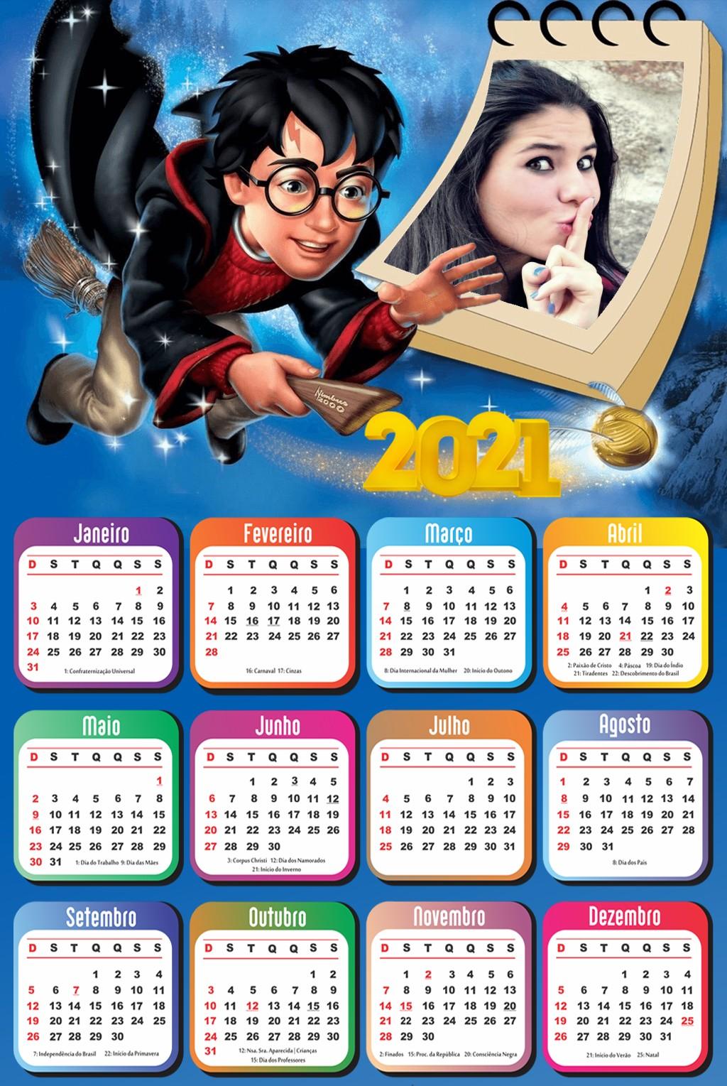 moldura-harry-potter-com-calendario-2021-gratis