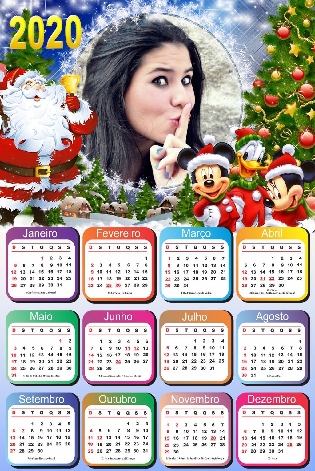 natal-disney-fotomontagem-calendario-2020