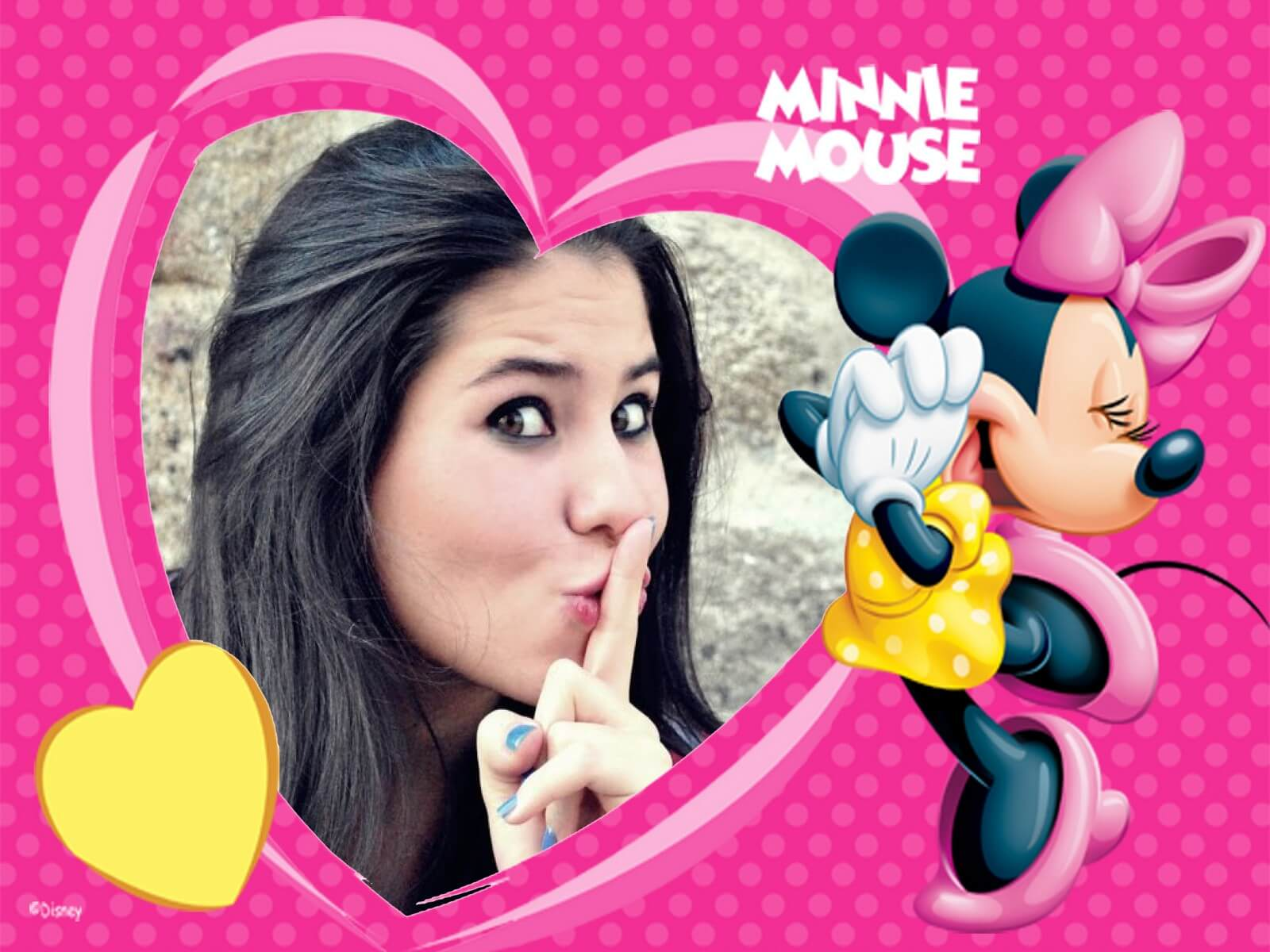 montagem-de-fotos-com-moldura-da-minnie-mouse