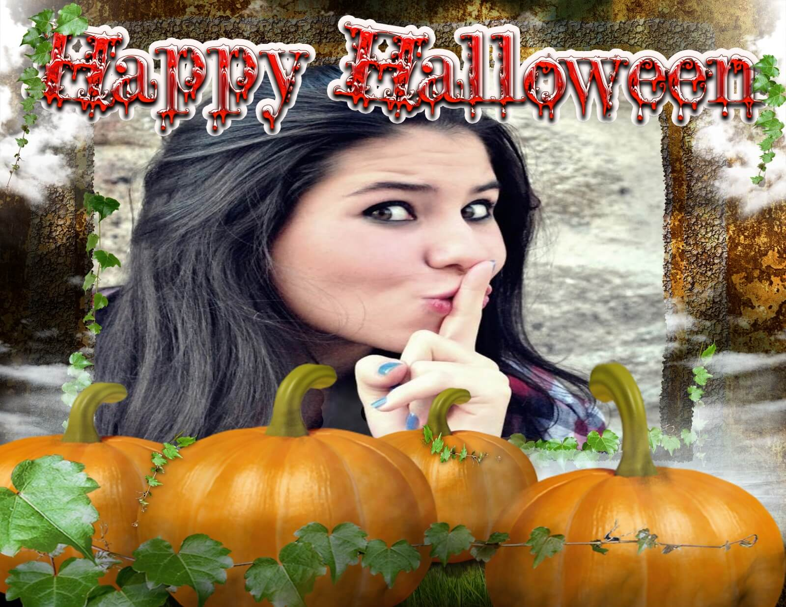 montagem-de-fotos-happy-halloween-com-abobora